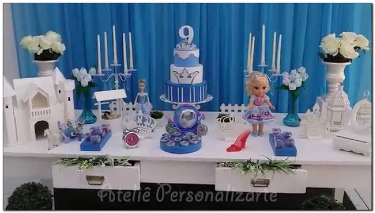 Decoração Da Cinderela Festa Infantil