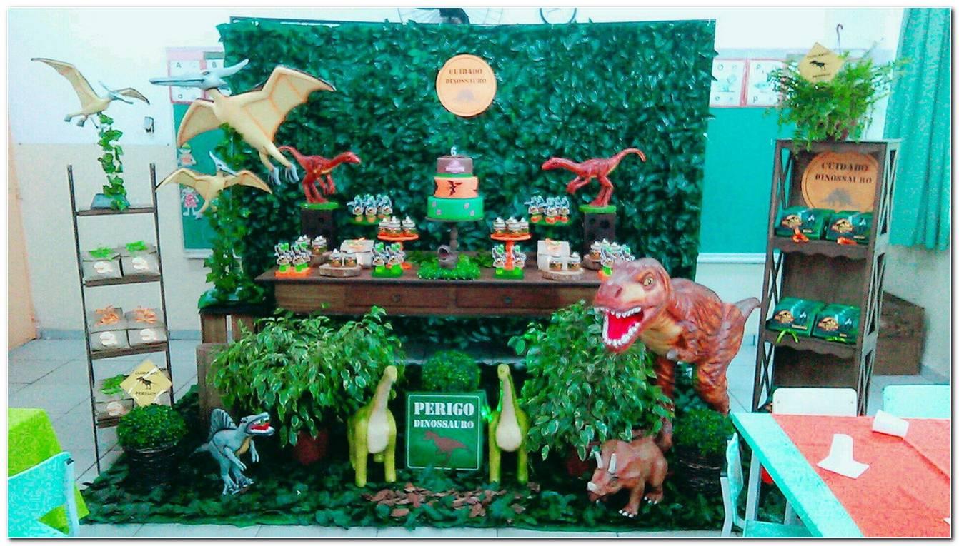 Decoração De Aniversario Dinossauro