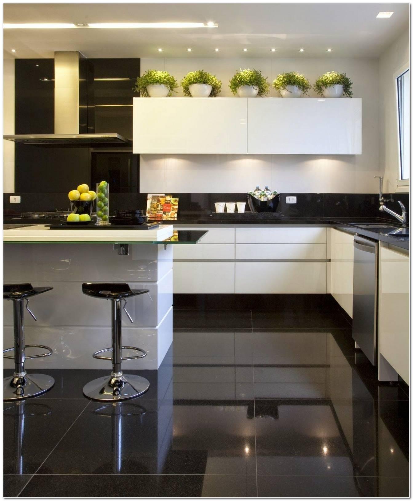Decoração De Cozinha Preto E Branco