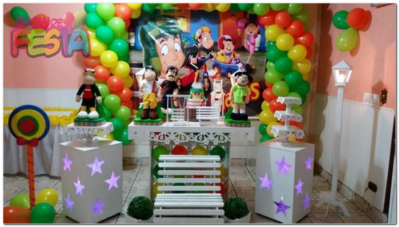Decoração De Festa Infantil Do Chaves