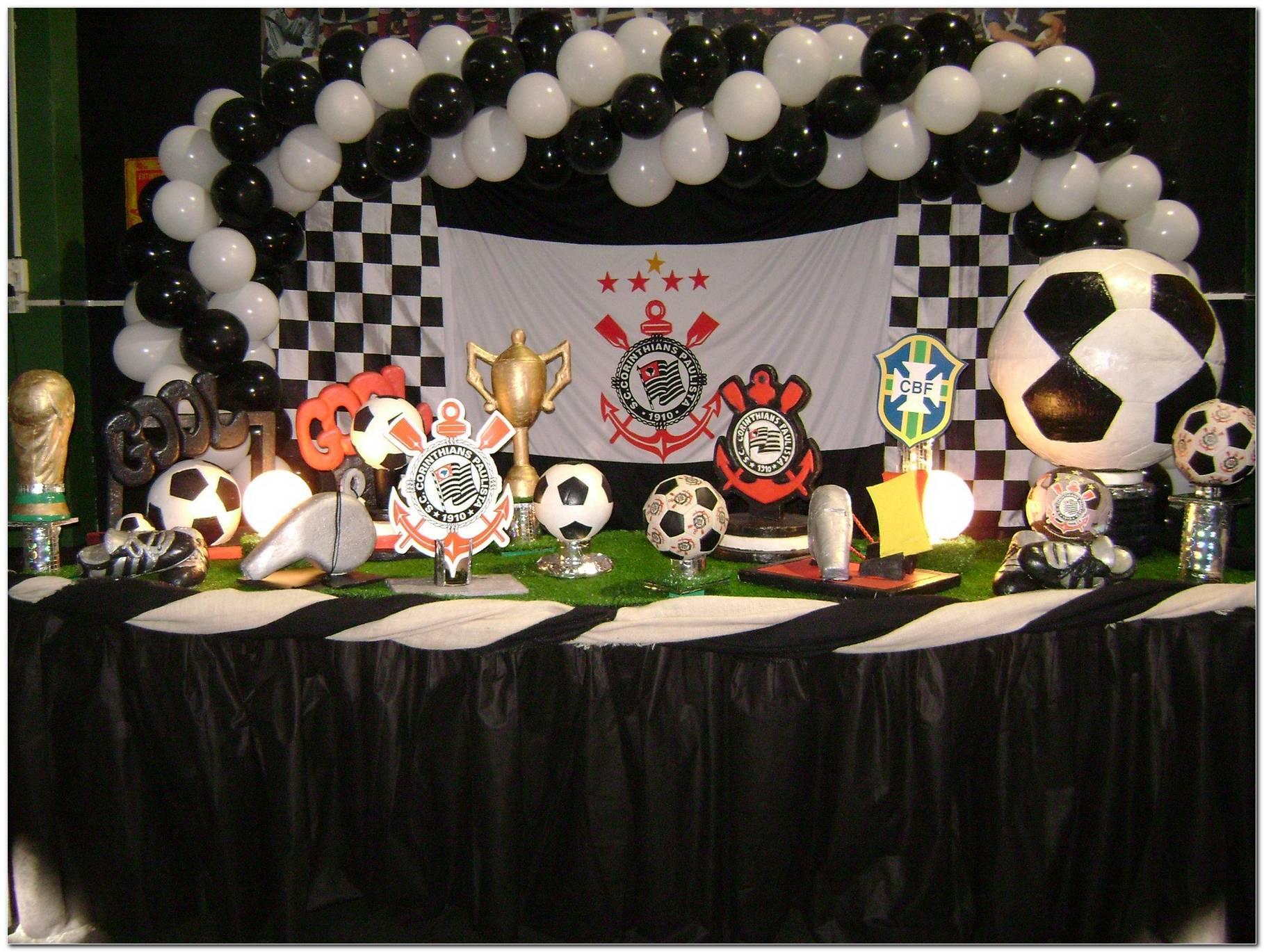 Decoração De Festa Infantil Do Corinthians