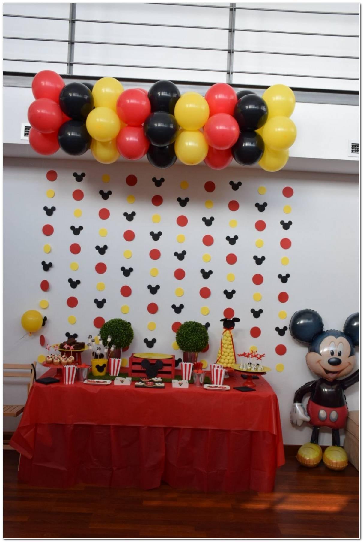 Decoração De Festa Infantil Do Mickey 90 Ideias Incriveis