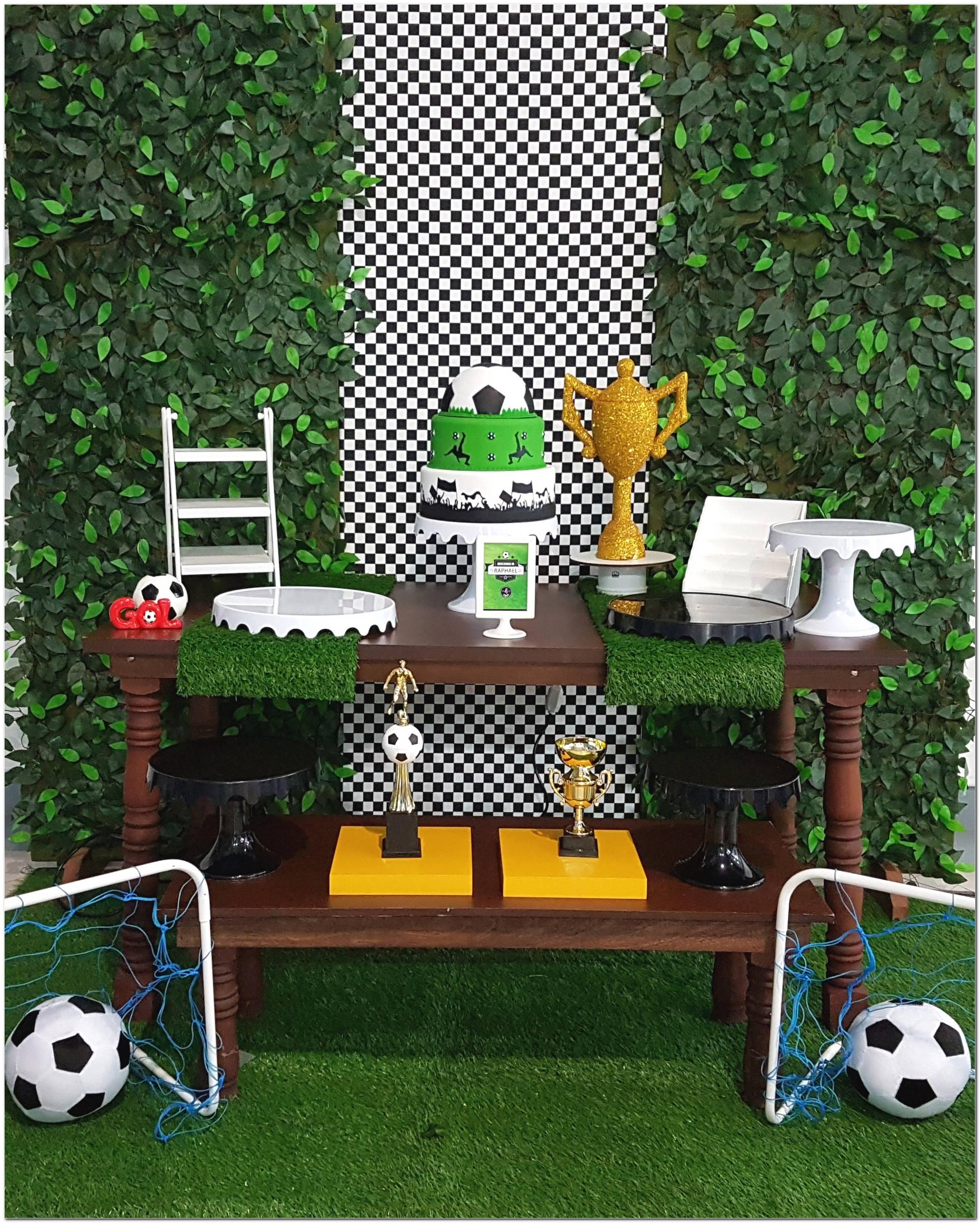 Decoração De Futebol Festa Infantil