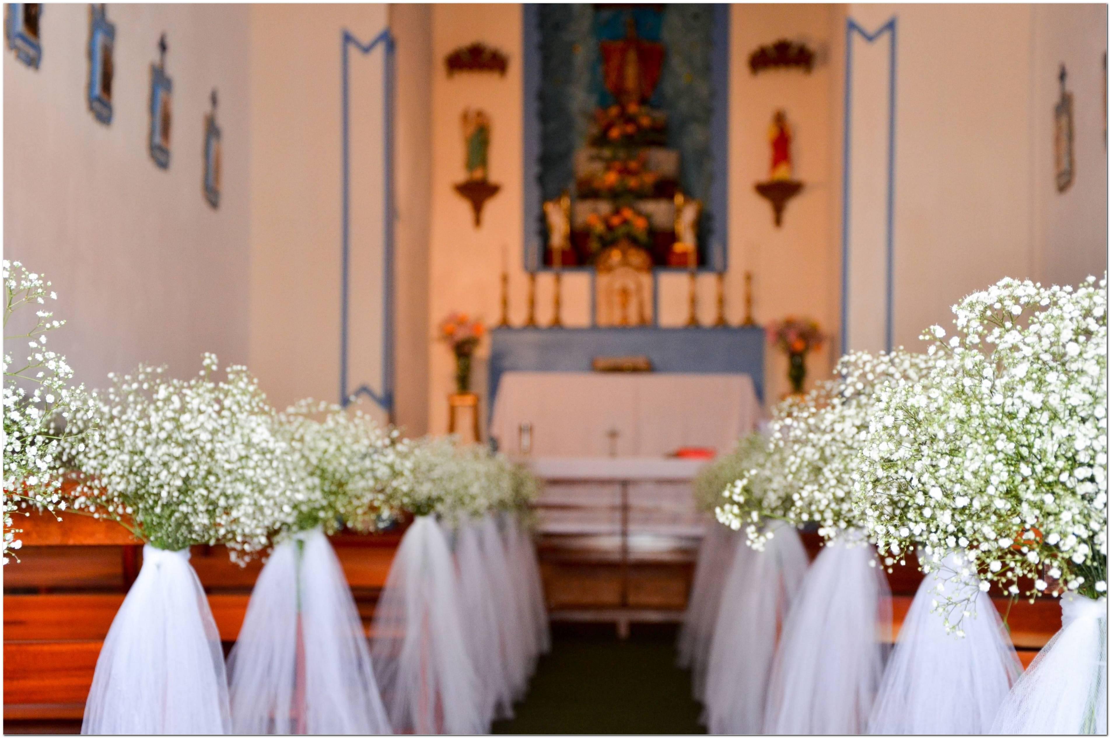 Decoração De Igreja Para Casamento Dicas E Ideias Incríveis