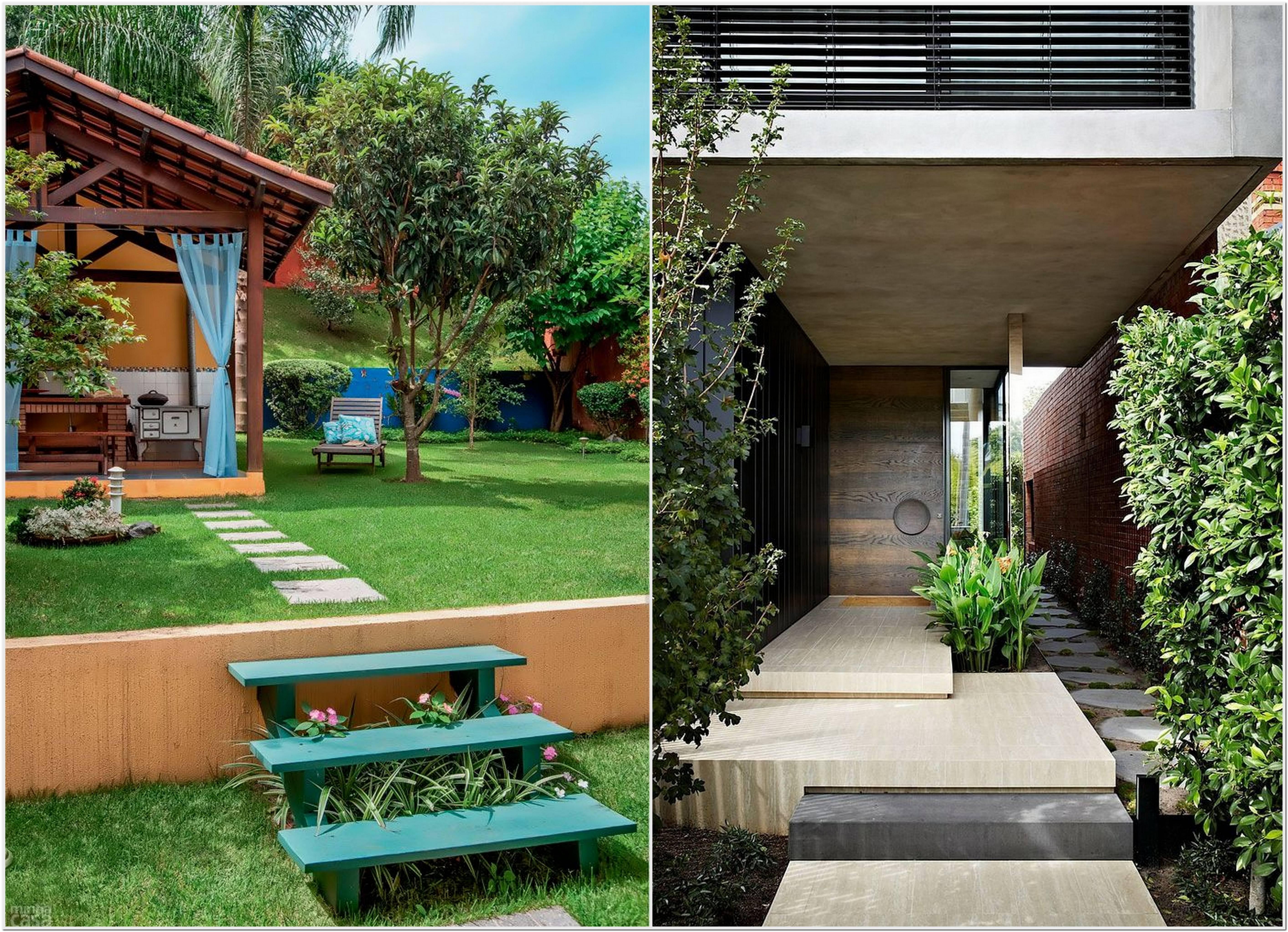 Decoração De Jardim Externo