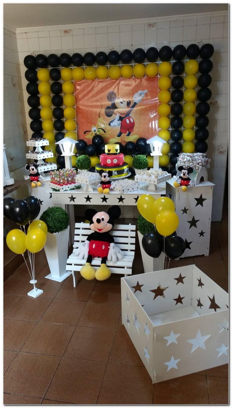 Decoração Do Mickey Simples