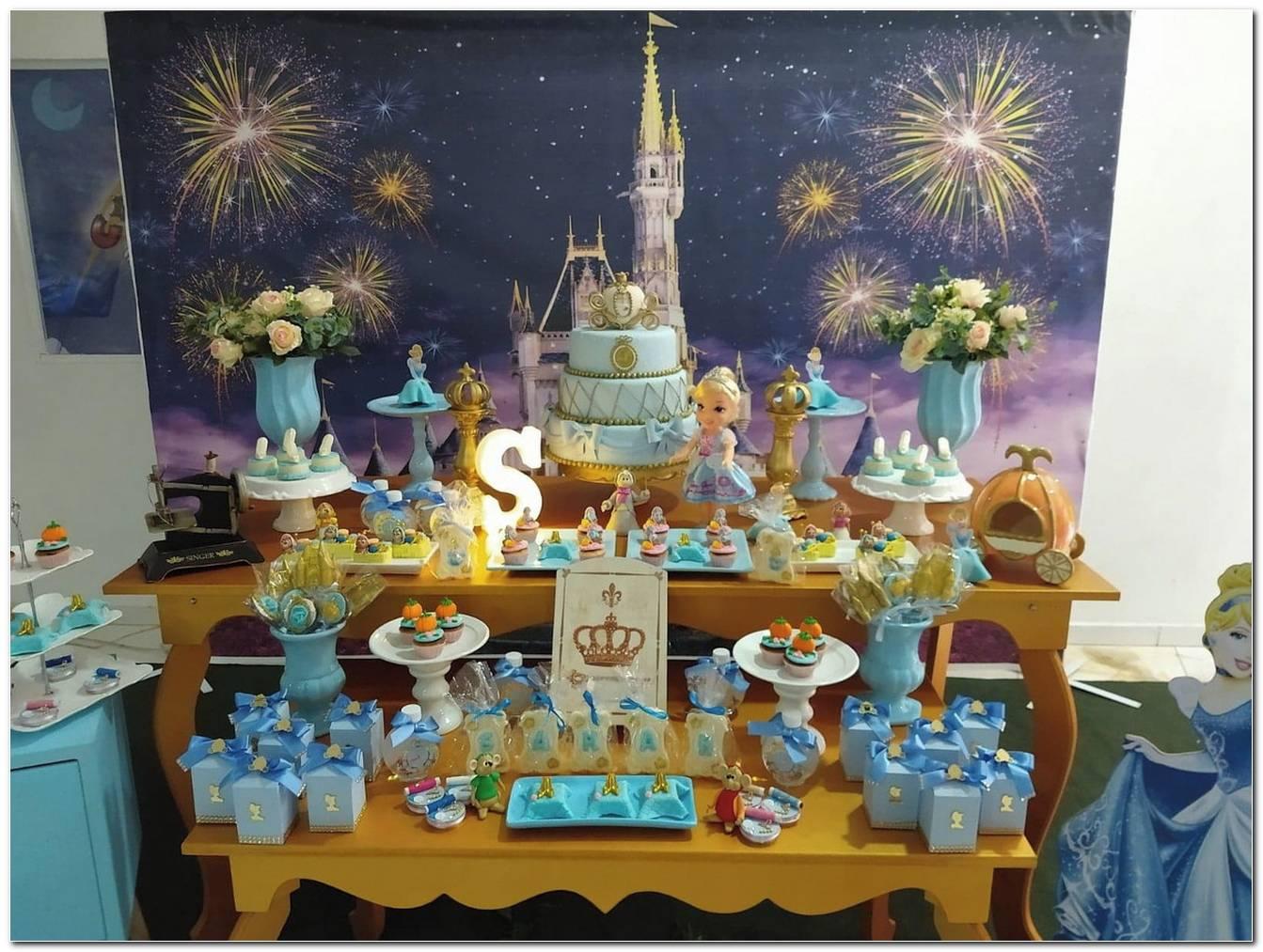 Decoração Festa Da Cinderela