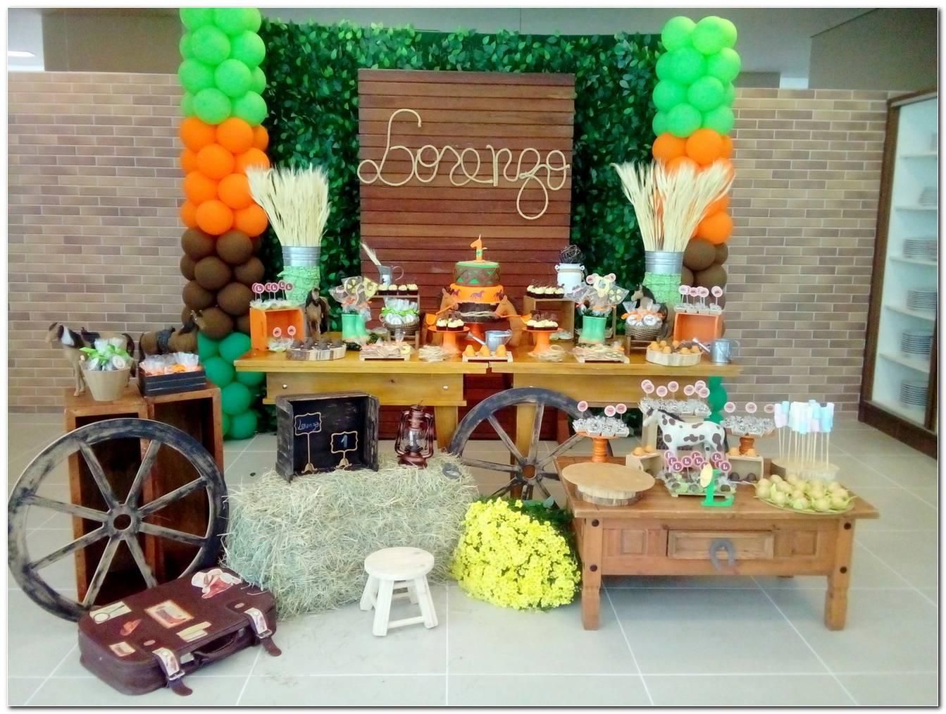 Decoração Festa Fazenda Infantil