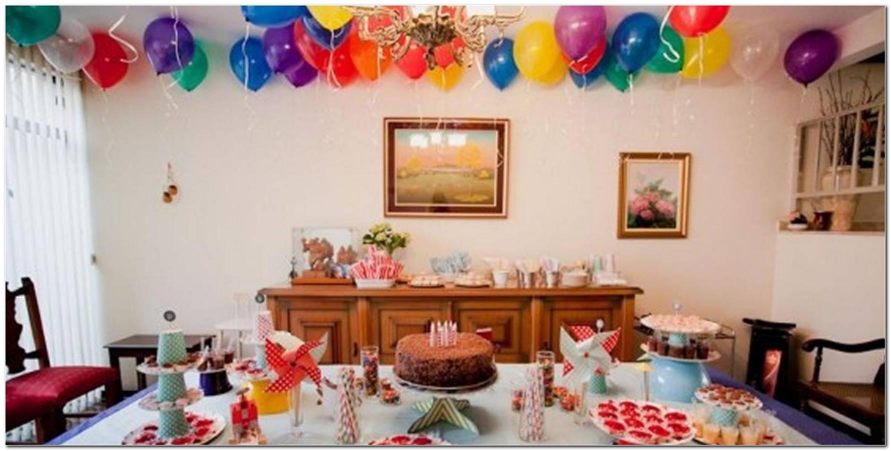 Decoração Festa Infantil Em Casa