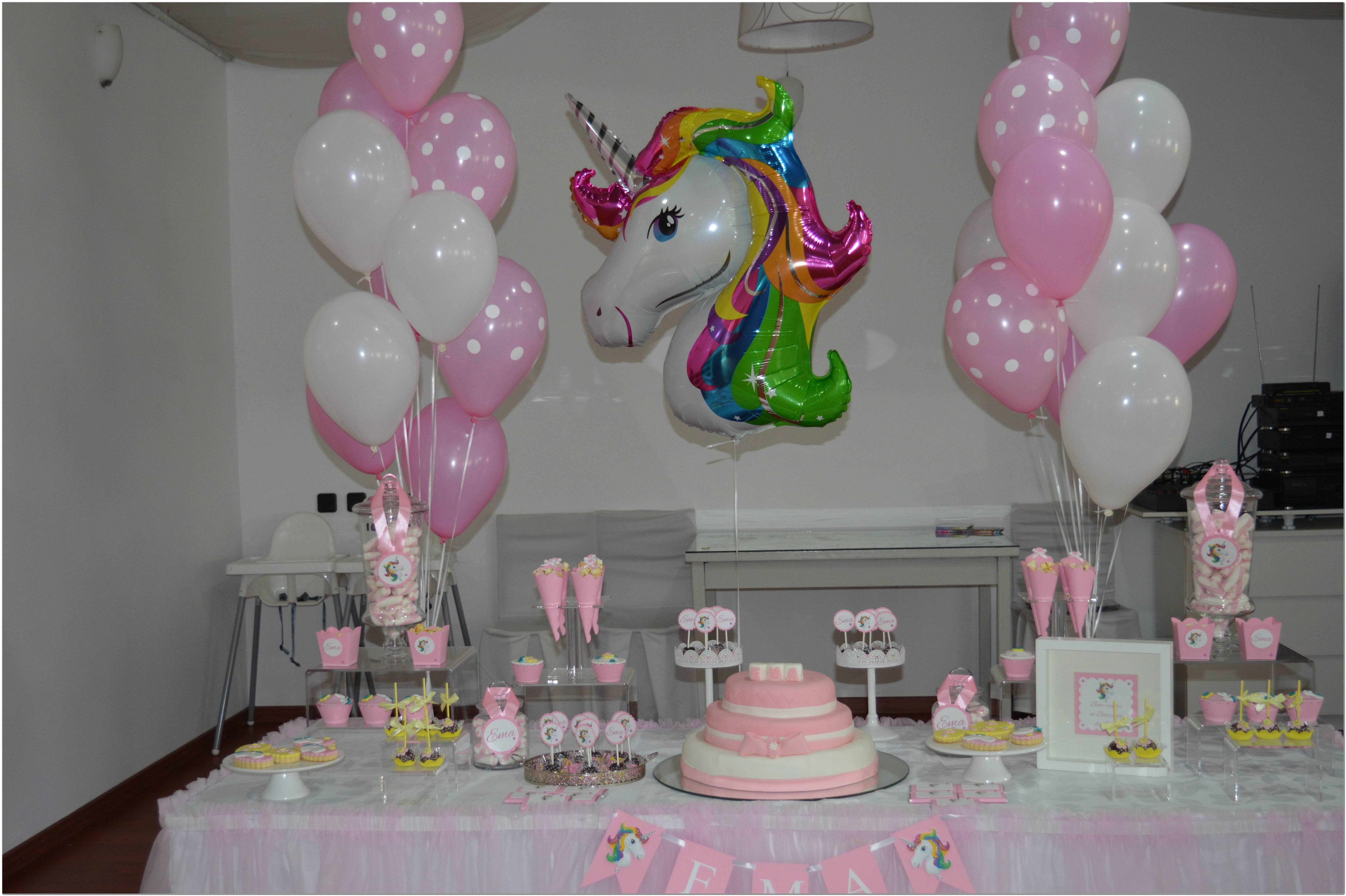 Decoração Festa Tema Unicornio