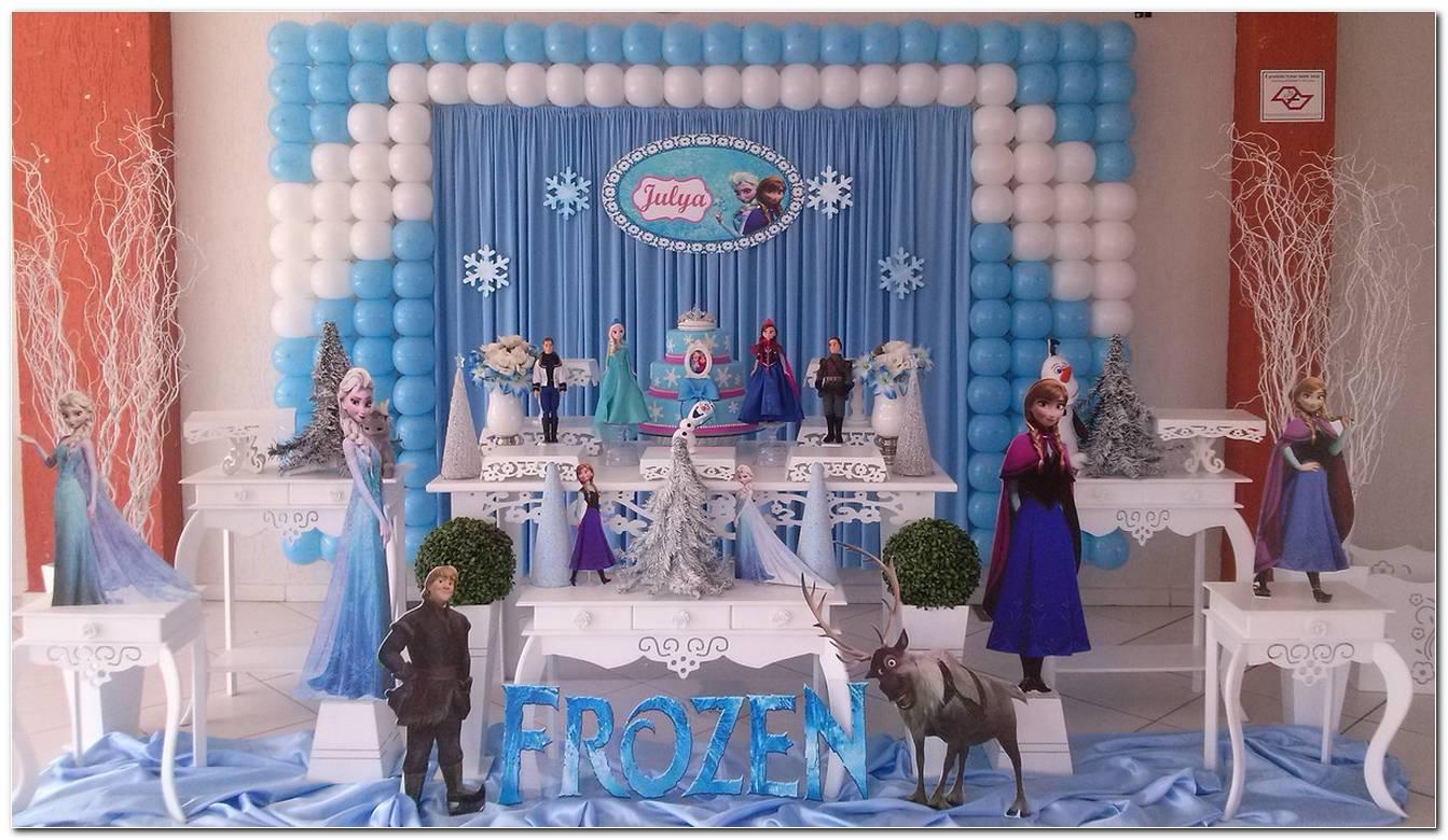 Decoração Frozen Dicas Para Uma Linda Festa