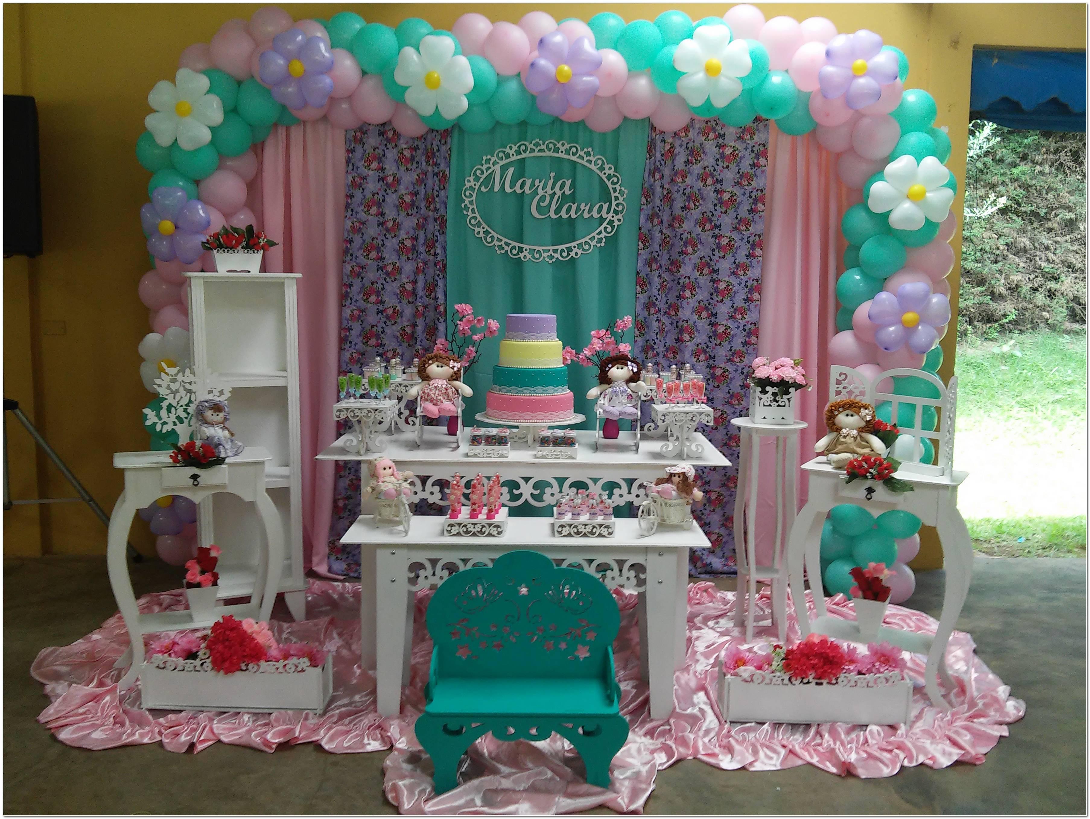 Decoração Para Aniversario Infantil Feminino