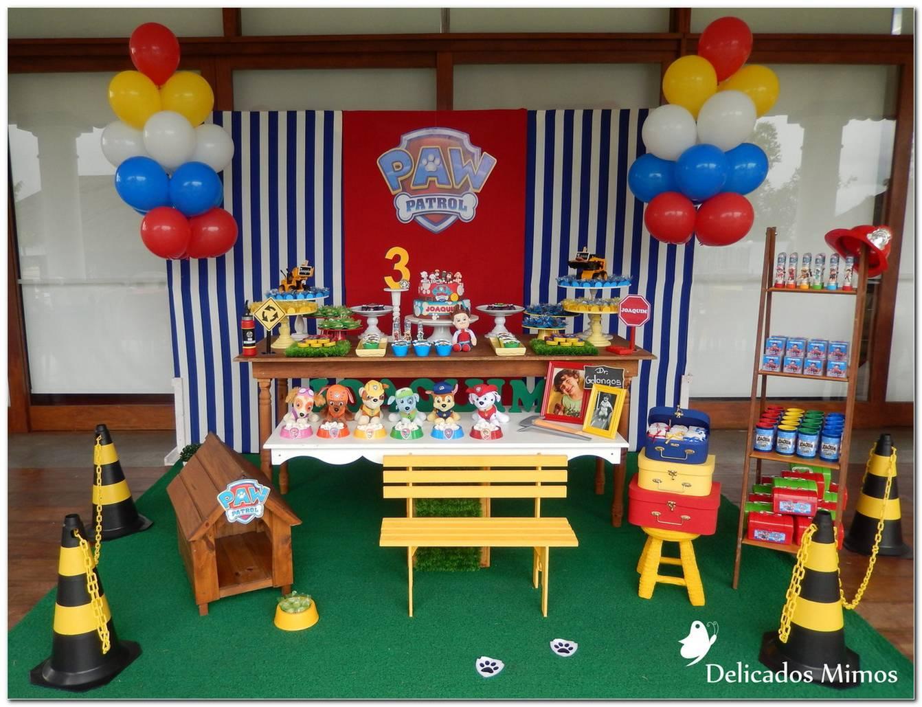 Decoração Para Festa Infantil Patrulha Canina