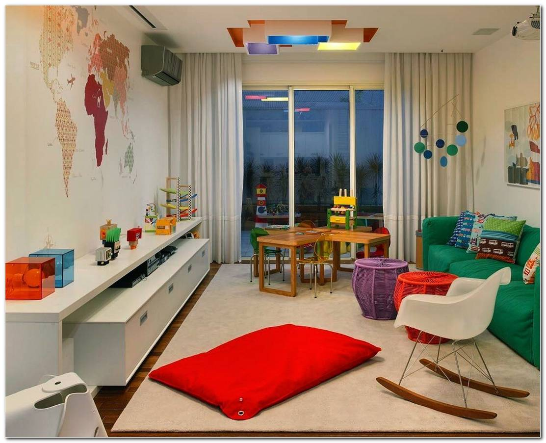 Decoracao De Sala De Tv Infantil