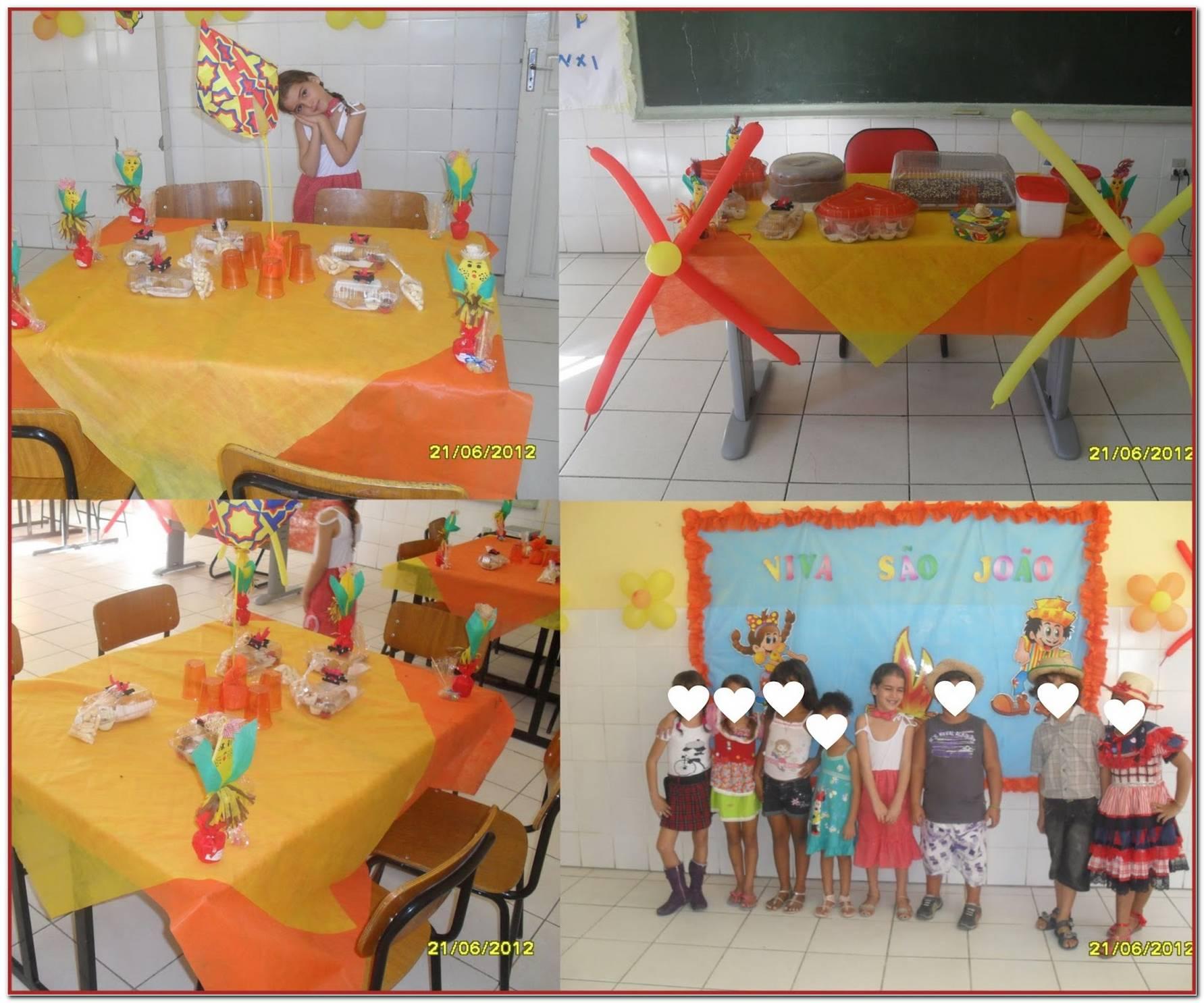 Decoracao De Sala Festa Junina Educacao Infantil