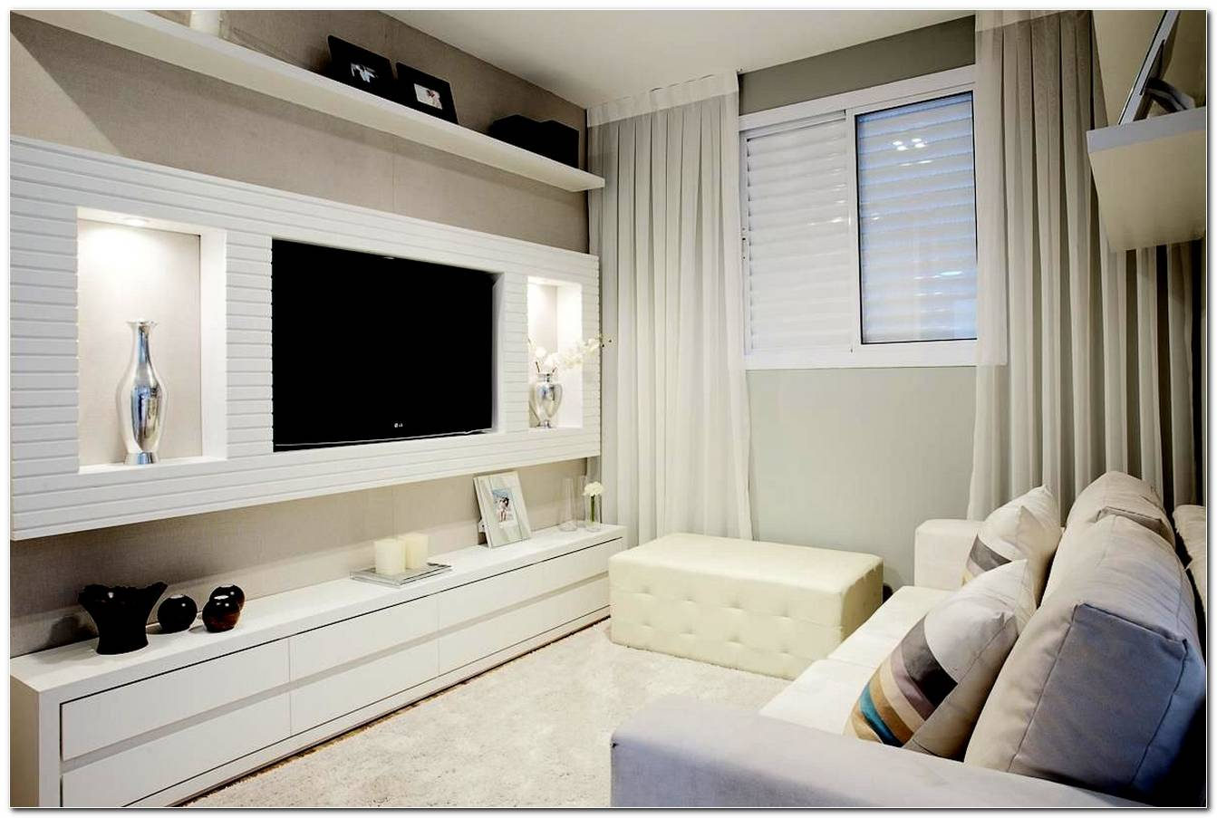 Decoracao De Sala Pequena Com Home Theater