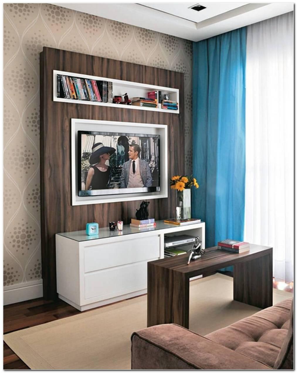 Decoracao De Sala Pequena Com Painel Para Tv