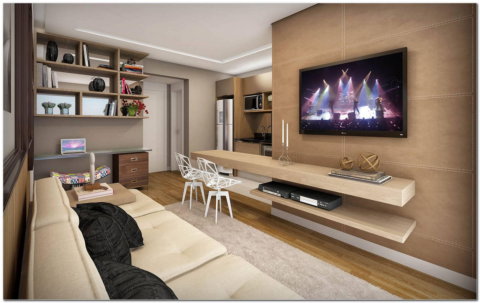 Decoracao Moderna Para Sala De Tv