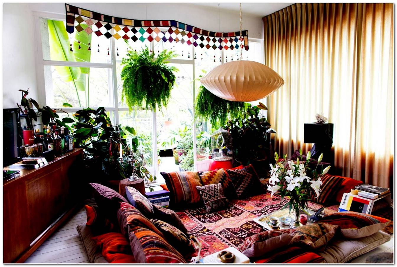 Decoracao Sala Hippie