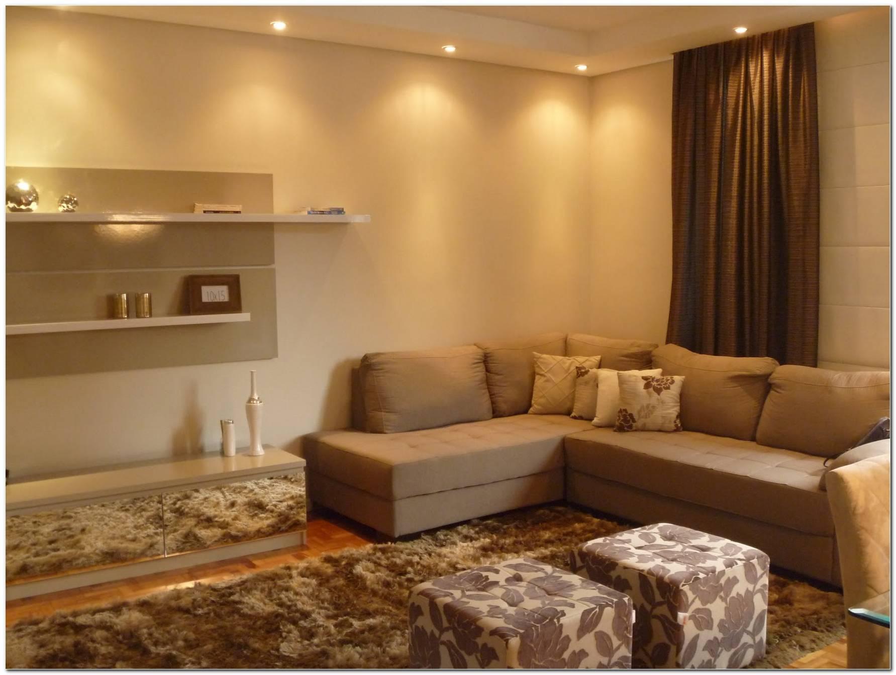 Decoracao Sala Pequena Sofa Em L