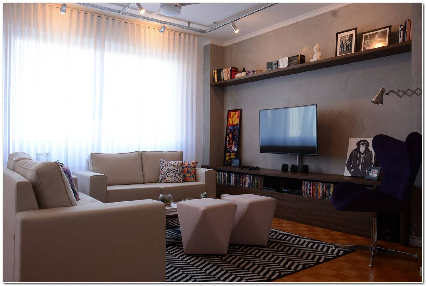 Decorar Sala Com Tv Na Parede