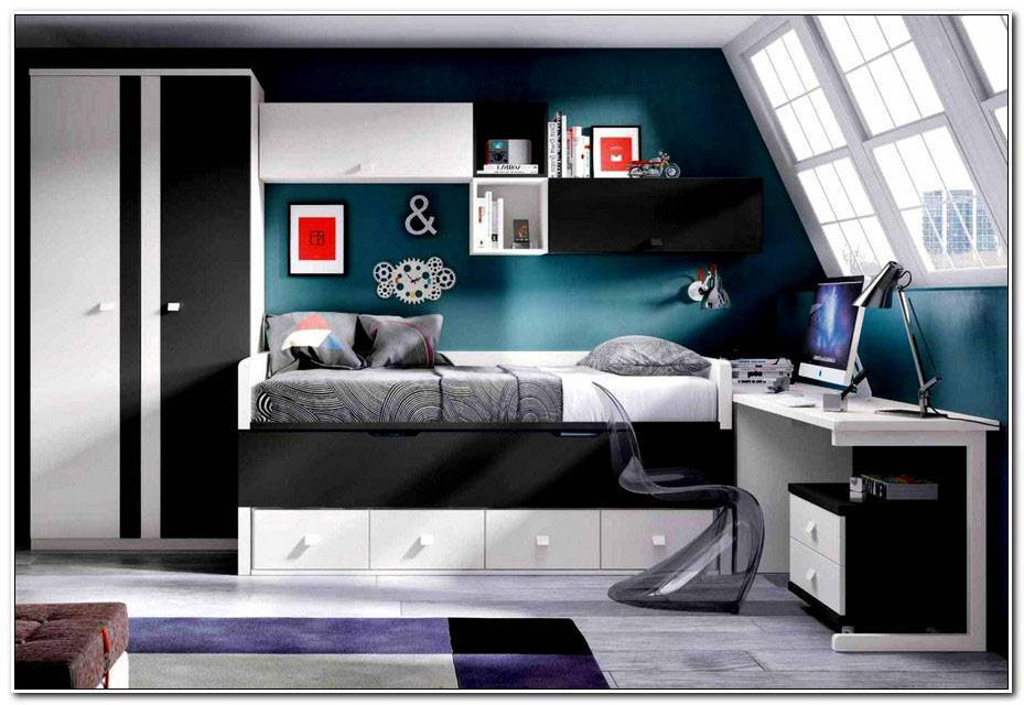 Decoration Chambre Adolescent Moderne