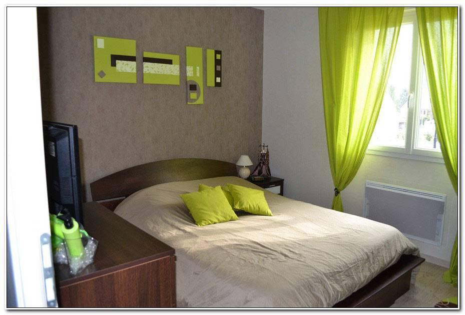 Decoration Chambre Vert Et Marron