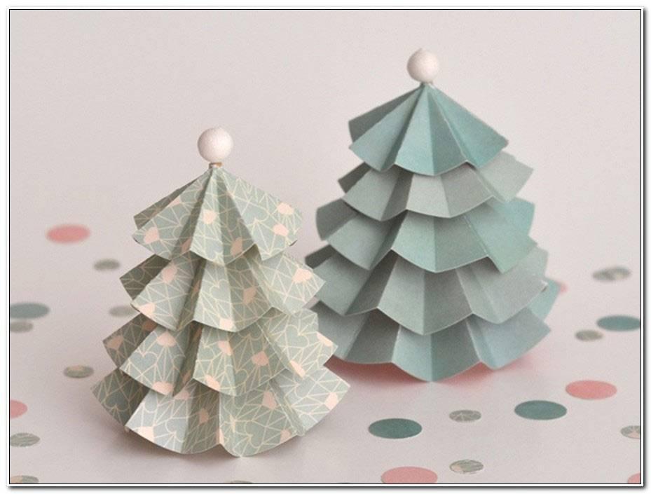 Decoration De Noel En Papier A Faire Soi Meme