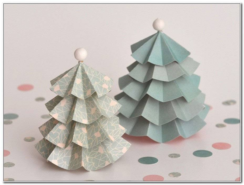 Decoration De Noel En Papier A Faire Soi Meme
