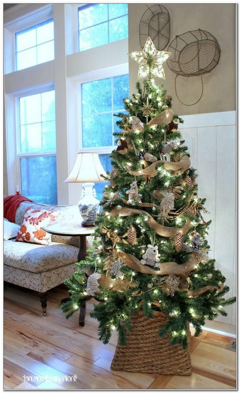 Decoration En Bois Pour Sapin De Noel