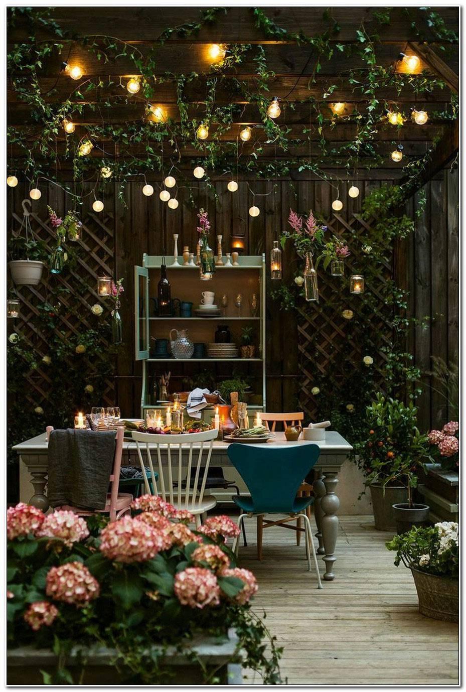Decoration Jardin Nuit