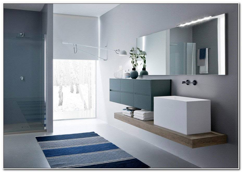 Decoration Salle De Bain Bleu 1