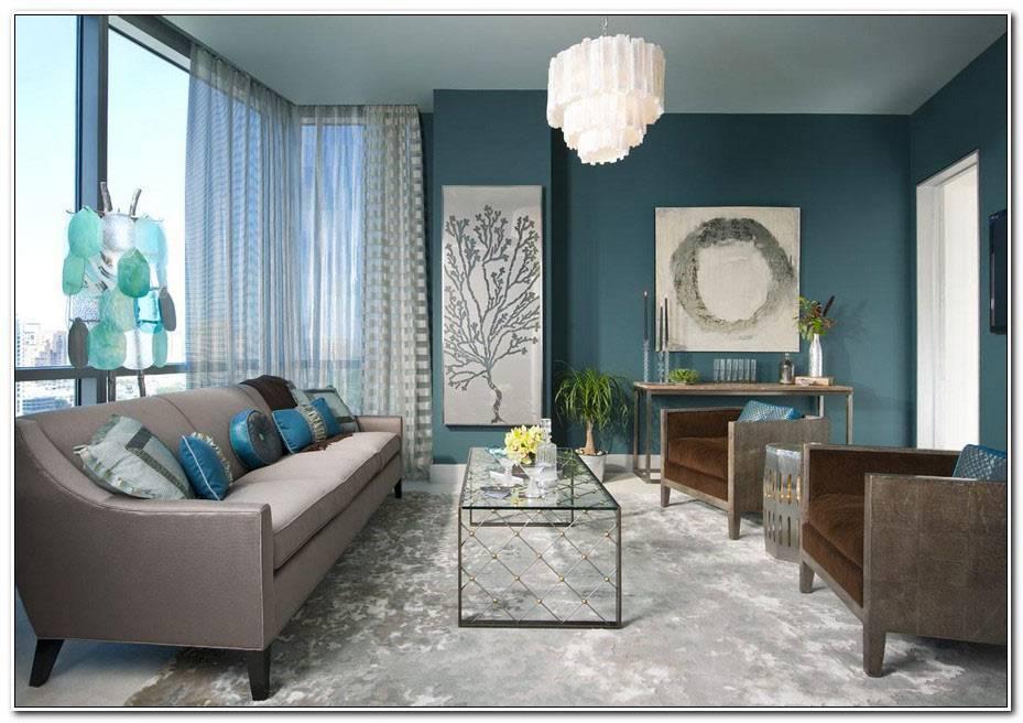 Decoration Salon Bleu 1