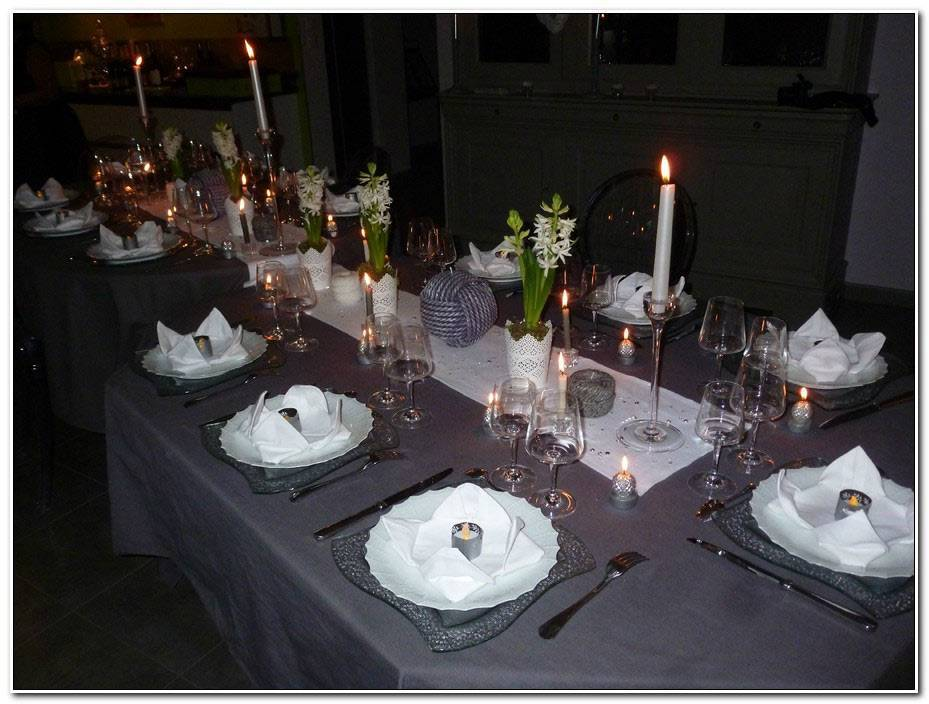 Decoration Table Reveillon Saint Sylvestre