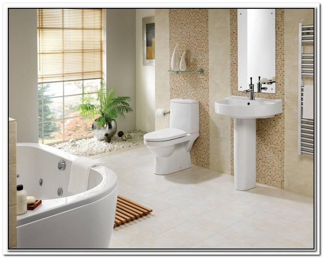 Decorative Contemporary Bathroom Mosaic