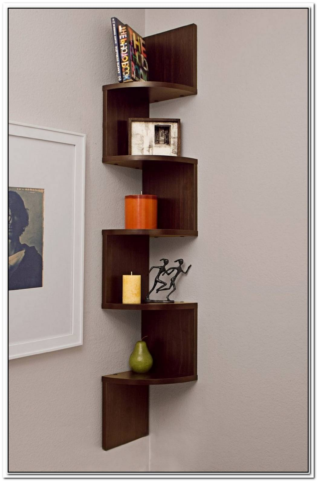 Decorative Corner Shelf 1
