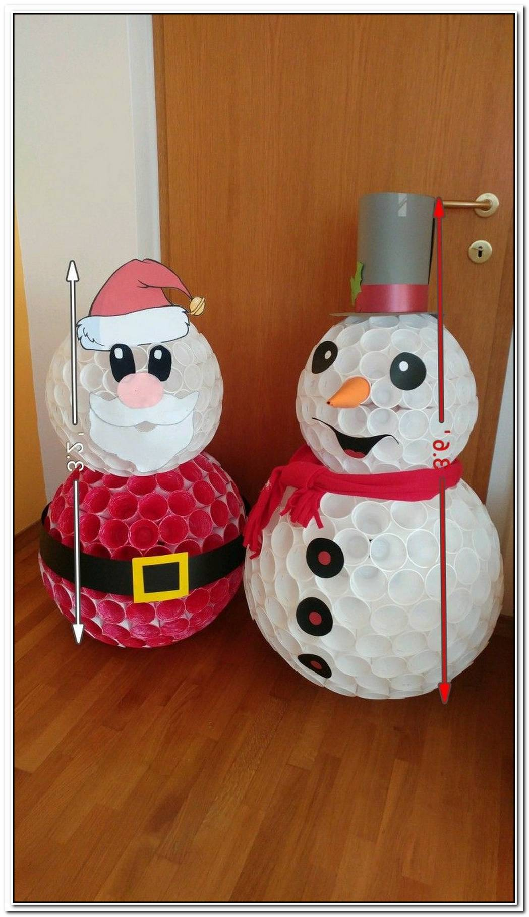 Decorative Diy Snowman