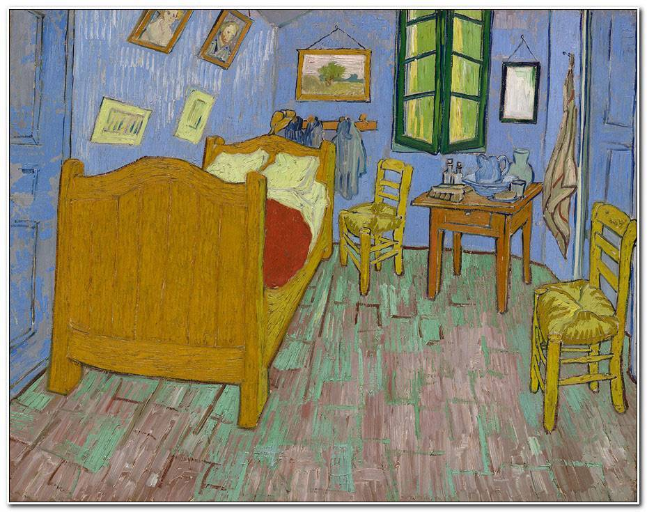 Description De La Chambre De Van Gogh
