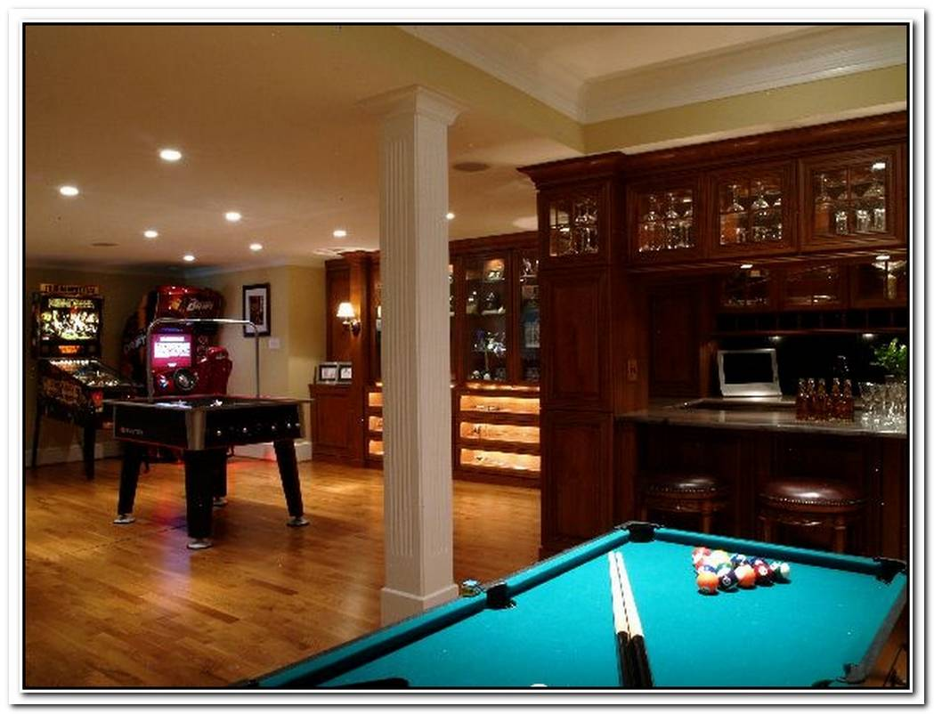 Design Ideas For Game And Entertainment Rooms