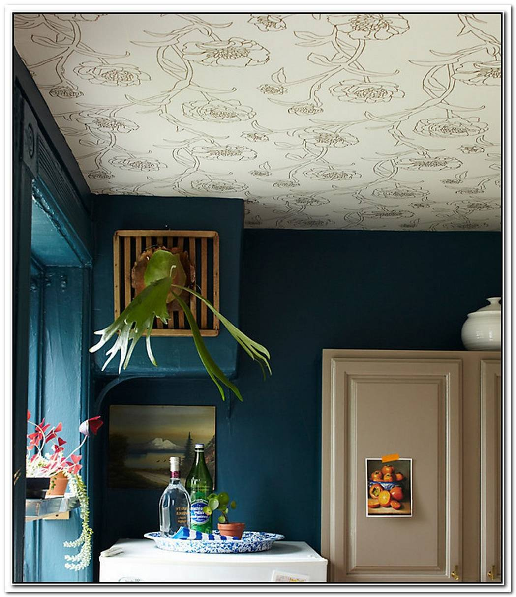 Design TrendWallpaper Featured On The Ceiling