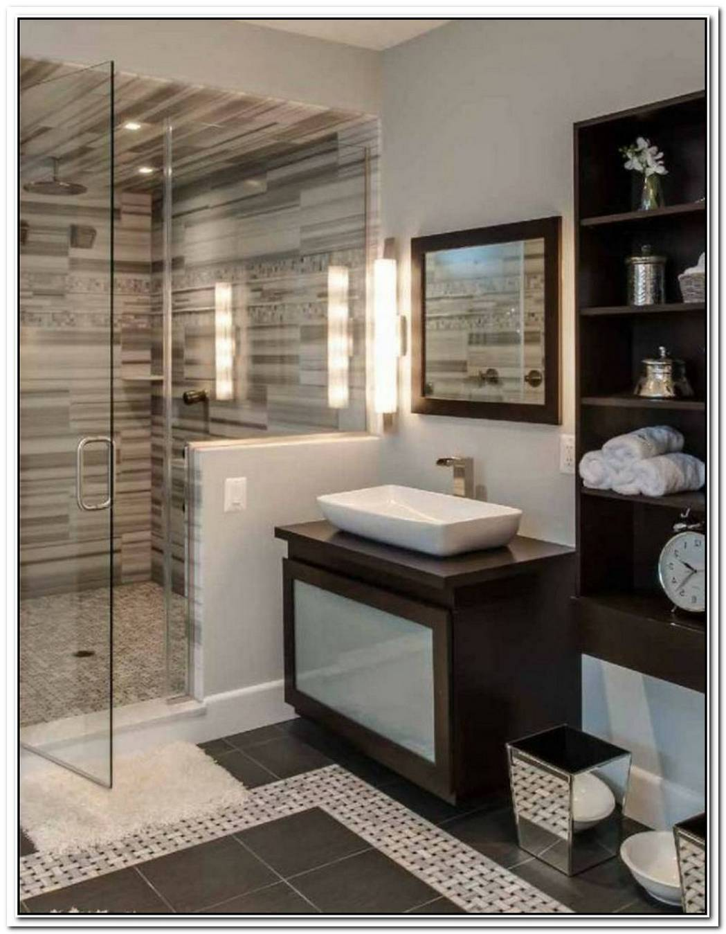 Designer Contemporary Bathroom Guest