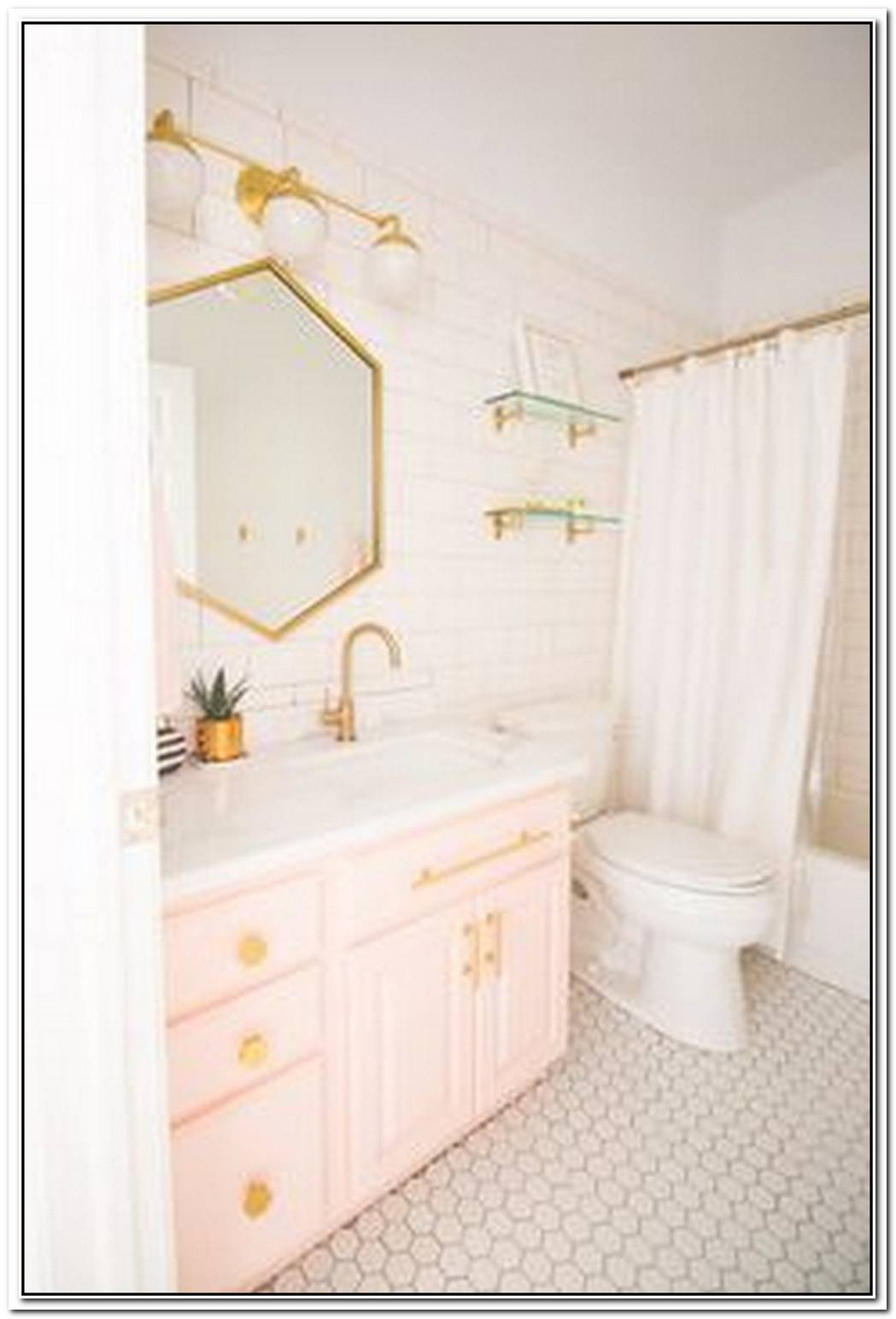Designer Contemporary Bathroom Pink