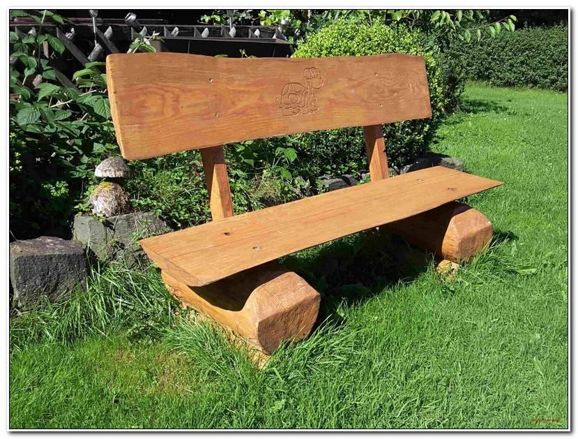 Desire Gartenbank Holz Massiv