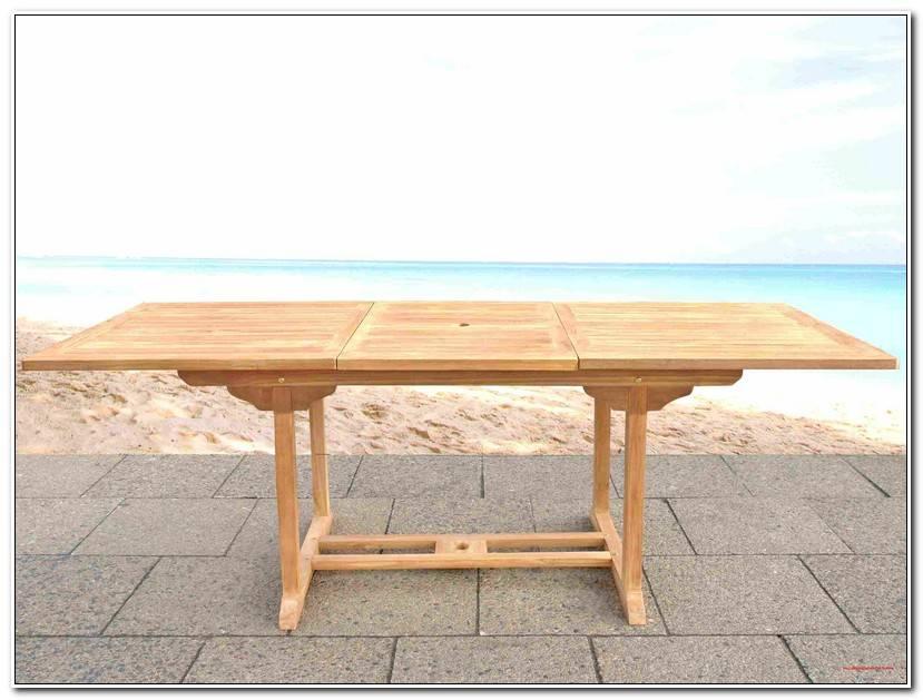 Desire Holz Gartentisch
