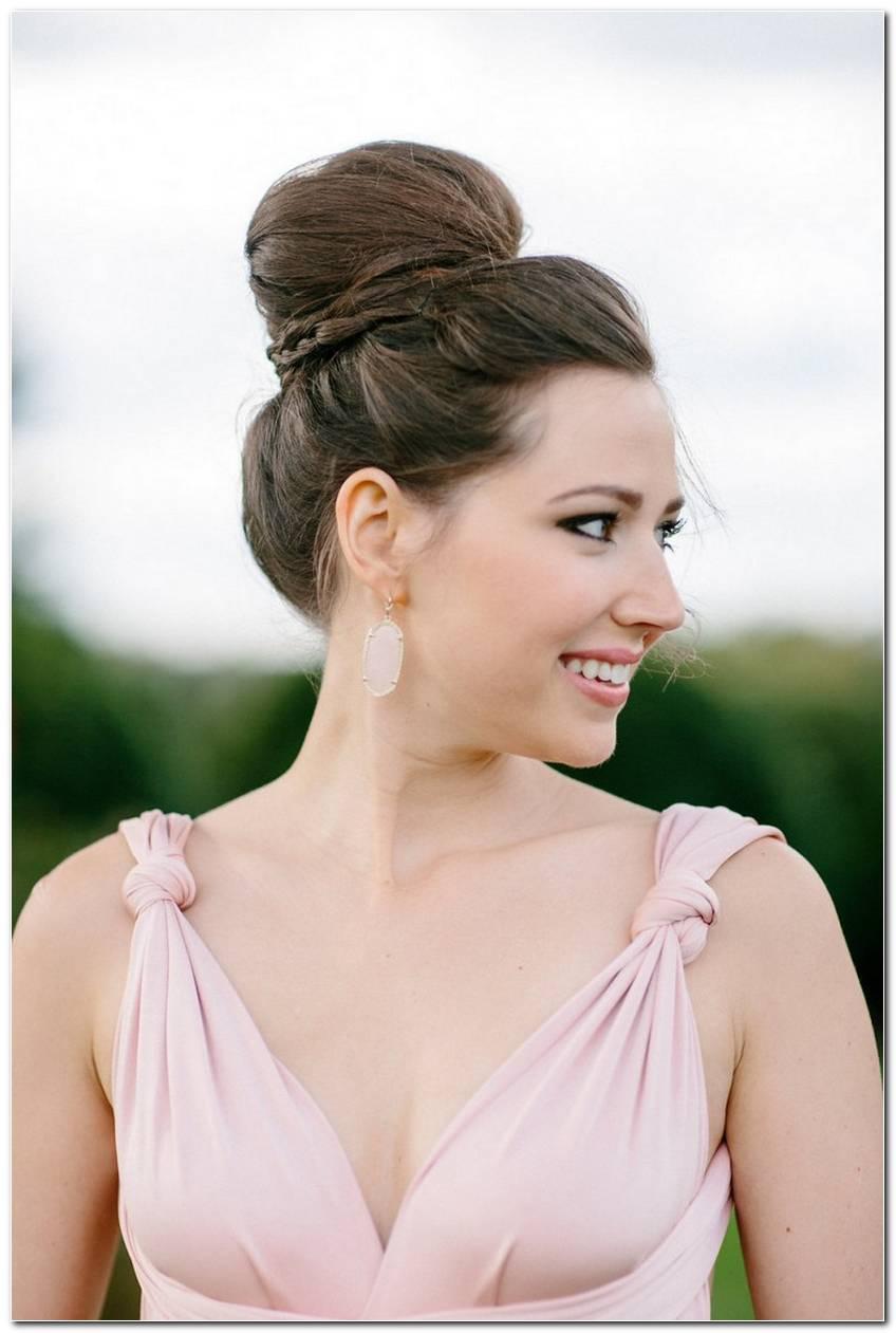Einfache Frisur Gast Hochzeit