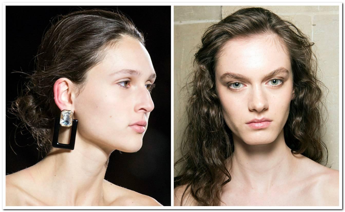 Einfache Frisur Mittellang