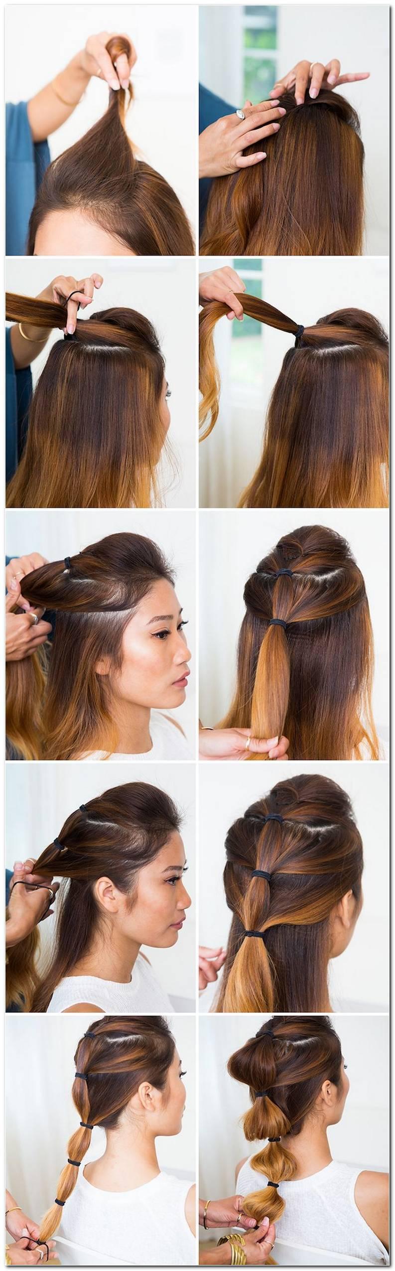 Einfache Frisuren Alltag Lange Haare