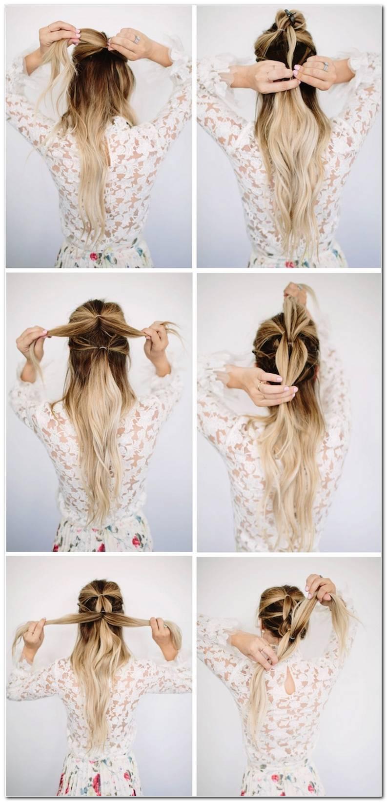 Einfache Frisuren FüR Den Alltag Lange Haare