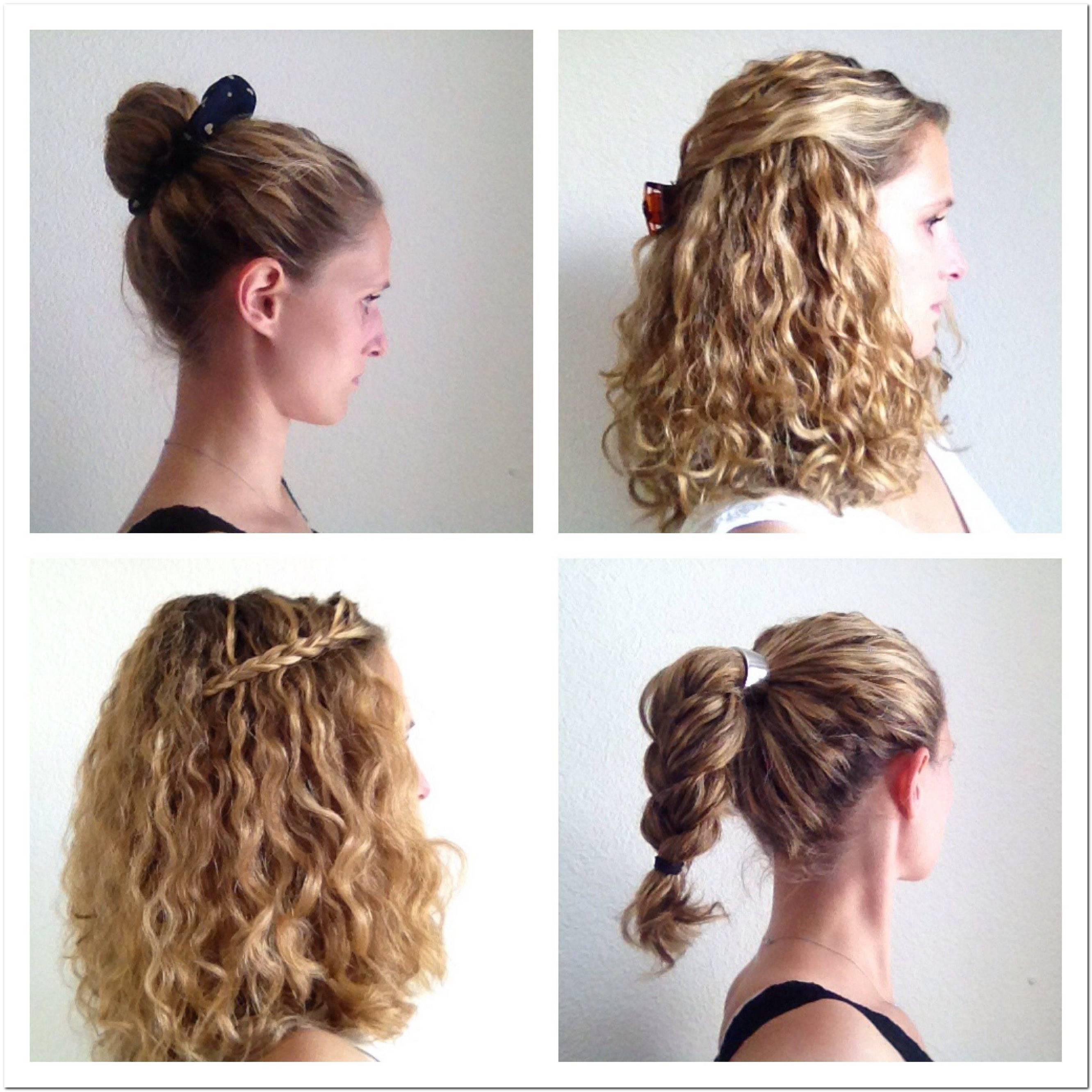 Einfache Frisuren FüR Den Alltag Mittellange Haare