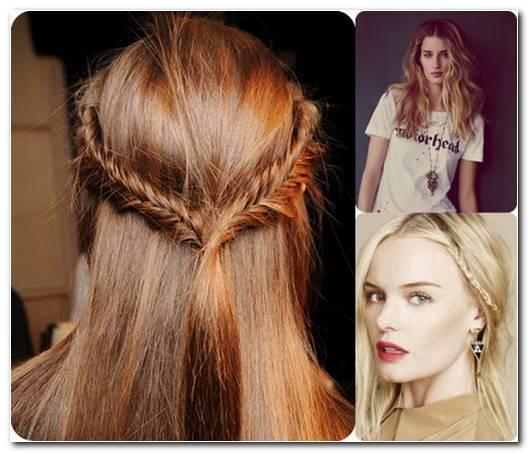 Einfache Frisuren FüR Die Schule Mittellange Haare
